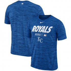 Wholesale Cheap Kansas City Royals Nike Authentic Collection Velocity Team Issue Performance T-Shirt Royal