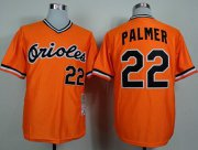 Wholesale Cheap Mitchell And Ness 1982 Orioles #22 Jim Palmer Orange Throwback Stitched MLB Jersey