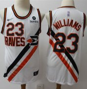 Wholesale Cheap Clippers #23 Louis Williams White Basketball Swingman Hardwood Classics Jersey
