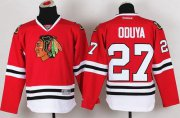 Wholesale Cheap Blackhawks #27 Johnny Oduya Red Stitched Youth NHL Jersey