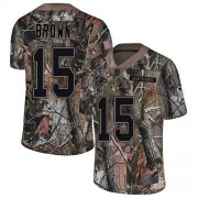Wholesale Cheap Nike Ravens #15 Marquise Brown Camo Men's Stitched NFL Limited Rush Realtree Jersey