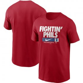 Wholesale Cheap Philadelphia Phillies Nike Local Nickname T-Shirt Red