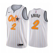 Wholesale Cheap Nike Magic #2 Al-Farouq Aminu White NBA Swingman 2020-21 City Edition Jersey