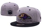 Wholesale Cheap Baltimore Ravens fitted hats 02