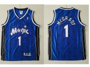 Wholesale Cheap Orlando Magic #1 Tracy McGrady Blue All-Star Hardwood Classics Soul Swingman Throwback Jersey