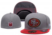 Wholesale Cheap San Francisco 49ers fitted hats04