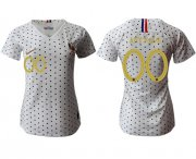 Wholesale Cheap Women's France Personalized Away Soccer Country Jersey