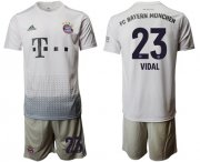 Wholesale Cheap Bayern Munchen #23 Vidal Away Soccer Club Jersey