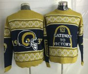 Wholesale Cheap Nike Rams Men's Ugly Sweater