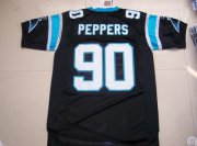Wholesale Cheap Panthers #90 Julius Peppers Black Stitched NFL Jersey