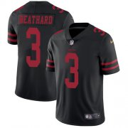 Wholesale Cheap Nike 49ers #3 C.J. Beathard Black Alternate Youth Stitched NFL Vapor Untouchable Limited Jersey