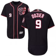 Wholesale Cheap Nationals #9 Brian Dozier Navy Blue Flexbase Authentic Collection Stitched MLB Jersey