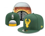 Wholesale Cheap Milwaukee Bucks Snapback Ajustable Cap Hat YD 2