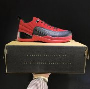 Wholesale Cheap Air Jordan 12 Low Shoes Bull Red/Black