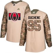 Wholesale Cheap Adidas Senators #95 Matt Duchene Camo Authentic 2017 Veterans Day Stitched Youth NHL Jersey