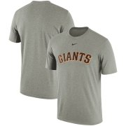 Wholesale Cheap San Francisco Giants Nike Batting Practice Logo Legend Performance T-Shirt Gray