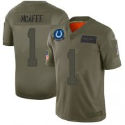 Wholesale Cheap Nike Colts #1 Pat McAfee Camo Men's Stitched NFL Limited 2019 Salute To Service Jersey
