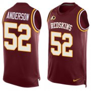 Wholesale Cheap Nike Redskins #52 Ryan Anderson Burgundy Red Team Color Men's Stitched NFL Limited Tank Top Jersey