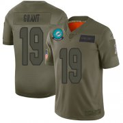 Wholesale Cheap Nike Dolphins #19 Jakeem Grant Camo Men's Stitched NFL Limited 2019 Salute To Service Jersey