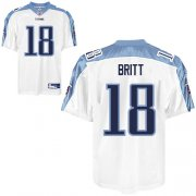 Wholesale Cheap Titans #18 Kenny Britt Stitched White NFL Jersey