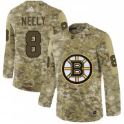 Wholesale Cheap Adidas Bruins #8 Cam Neely Camo Authentic Stitched NHL Jersey