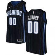 Wholesale Cheap Nike Magic #00 Aaron Gordon Black NBA Swingman Statement Edition Jersey