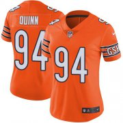 Wholesale Cheap Nike Bears #94 Robert Quinn Orange Women's Stitched NFL Limited Rush Jersey