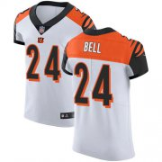 Wholesale Cheap Nike Bengals #24 Vonn Bell White Men's Stitched NFL New Elite Jersey