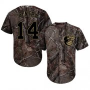 Wholesale Cheap Orioles #14 Craig Gentry Camo Realtree Collection Cool Base Stitched MLB Jersey