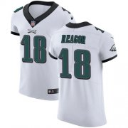 Wholesale Cheap Nike Eagles #18 Jalen Reagor White Men's Stitched NFL New Elite Jersey
