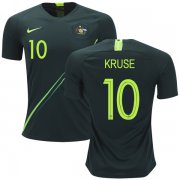 Wholesale Cheap Australia #10 Kruse Away Soccer Country Jersey