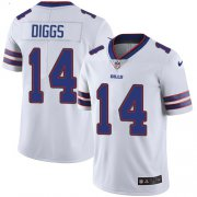 Wholesale Cheap Nike Bills #14 Stefon Diggs White Youth Stitched NFL Vapor Untouchable Limited Jersey