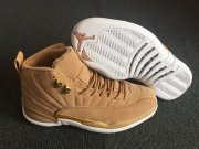 Wholesale Cheap Womens Air Jordan 12 Wheat Wheat/White
