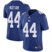 Wholesale Cheap Nike Giants #44 Doug Kotar Royal Blue Team Color Youth Stitched NFL Vapor Untouchable Limited Jersey