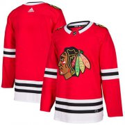 Wholesale Cheap Adidas Blackhawks Blank Red Home Authentic Stitched NHL Jersey
