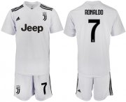 Wholesale Cheap Juventus #7 Ronaldo White Soccer Club Jersey