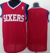 Wholesale Cheap Philadelphia 76ers Blank Red Swingman Jersey