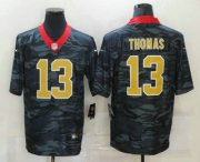 Wholesale Cheap Men's New Orleans Saints #13 Michael Thomas 2020 Camo Limited Stitched Nike NFL Jersey