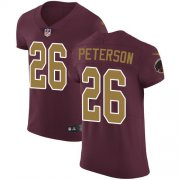 Wholesale Cheap Nike Redskins #26 Adrian Peterson Burgundy Red Alternate Men's Stitched NFL Vapor Untouchable Elite Jersey