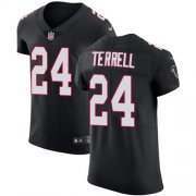 Wholesale Cheap Nike Falcons #24 A.J. Terrell Black Alternate Men's Stitched NFL New Elite Jersey