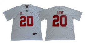 Wholesale Cheap Stanford Cardinal 20 Bryce Love White Nike College Football Jersey