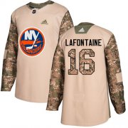 Wholesale Cheap Adidas Islanders #16 Pat LaFontaine Camo Authentic 2017 Veterans Day Stitched NHL Jersey