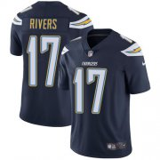Wholesale Cheap Nike Chargers #17 Philip Rivers Navy Blue Team Color Youth Stitched NFL Vapor Untouchable Limited Jersey