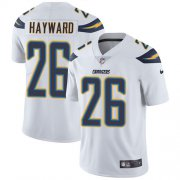 Wholesale Cheap Nike Chargers #26 Casey Hayward White Men's Stitched NFL Vapor Untouchable Limited Jersey