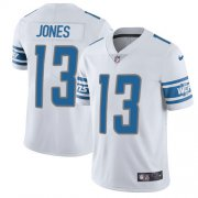 Wholesale Cheap Nike Lions #13 T.J. Jones White Youth Stitched NFL Vapor Untouchable Limited Jersey