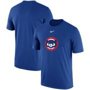 Wholesale Cheap Chicago Cubs Nike Batting Practice Logo Legend Performance T-Shirt Royal