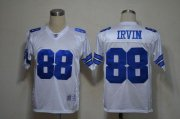 Wholesale Cheap Cowboys #88 Michael Irvin White Legend Throwback Stitched NFL Jersey