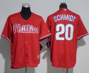 Wholesale Cheap Phillies #20 Mike Schmidt Red Cool Base Stitched Youth MLB Jersey