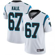 Wholesale Cheap Nike Panthers #67 Ryan Kalil White Men's Stitched NFL Vapor Untouchable Limited Jersey