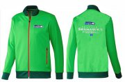 Wholesale Cheap NFL Seattle Seahawks Victory Jacket Green_1
